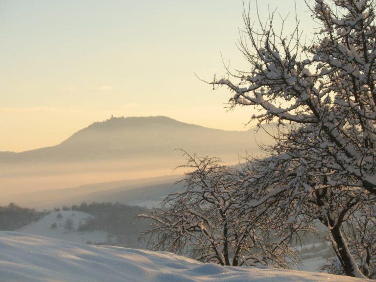 Le Haut Koenigsbourg au loin